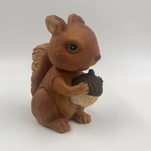 Vintage Squirrel with Acorn Bobble Head